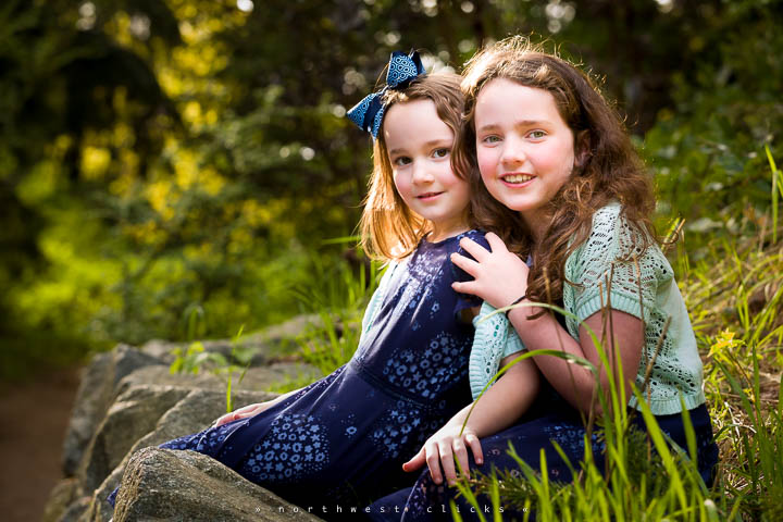 Sammamish professional outdoor family photographer
